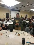 Novice 2019 Winners (Liberty Liu and Wittstock, Wittstock pictured)