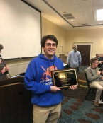 Harry Aaronson, India, 2019 Varsity Winner
